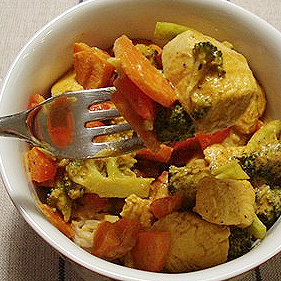 Post image for Coconut Curry Chicken