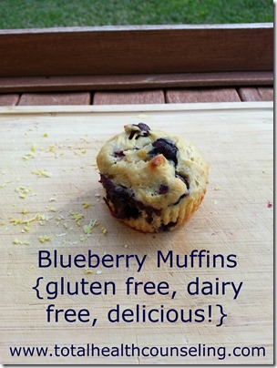 #MuffinMadness with Driscoll's Blueberry Muffins! {gluten free, dairy free}
